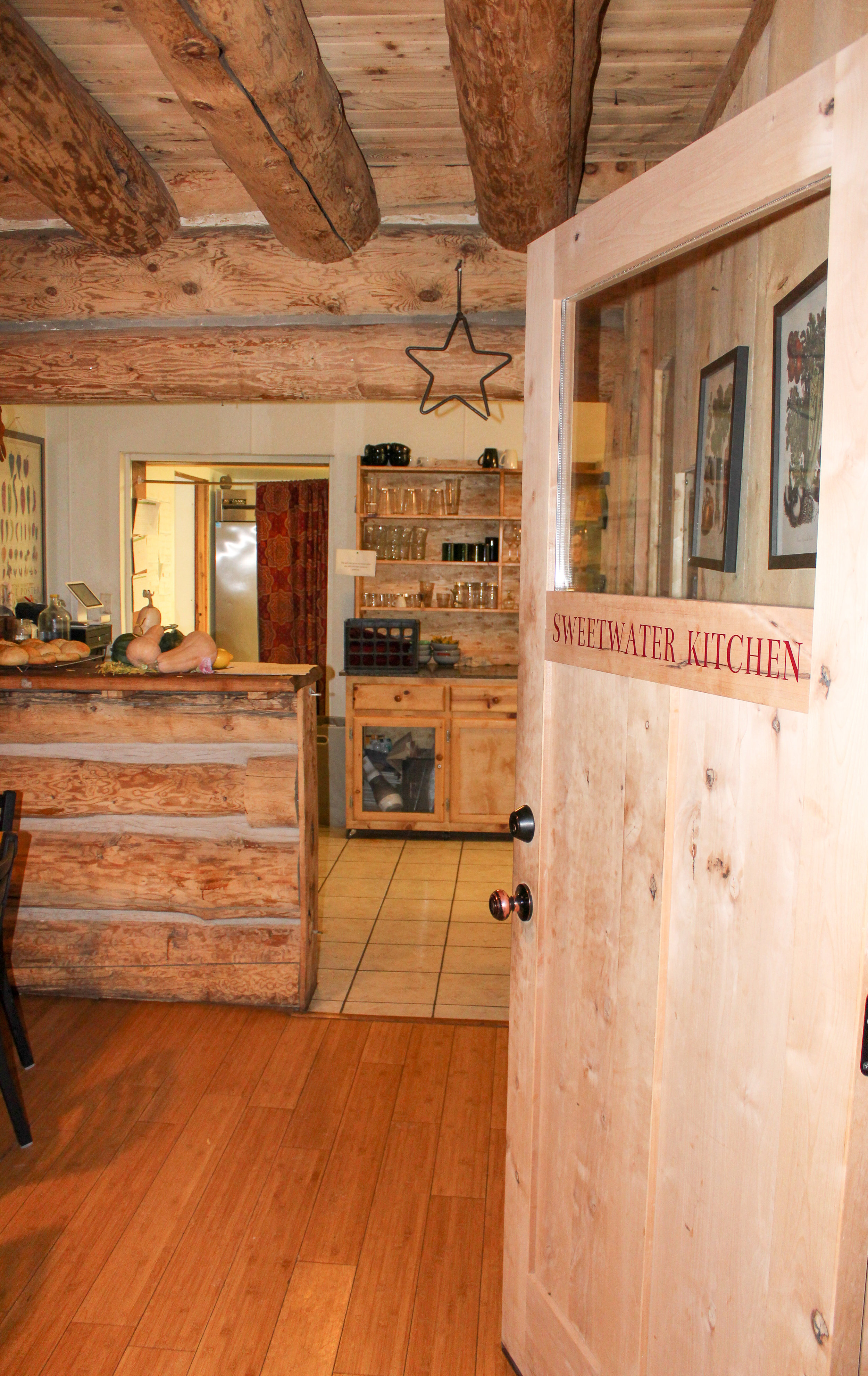 Entrance into Sweetwater Kitchen