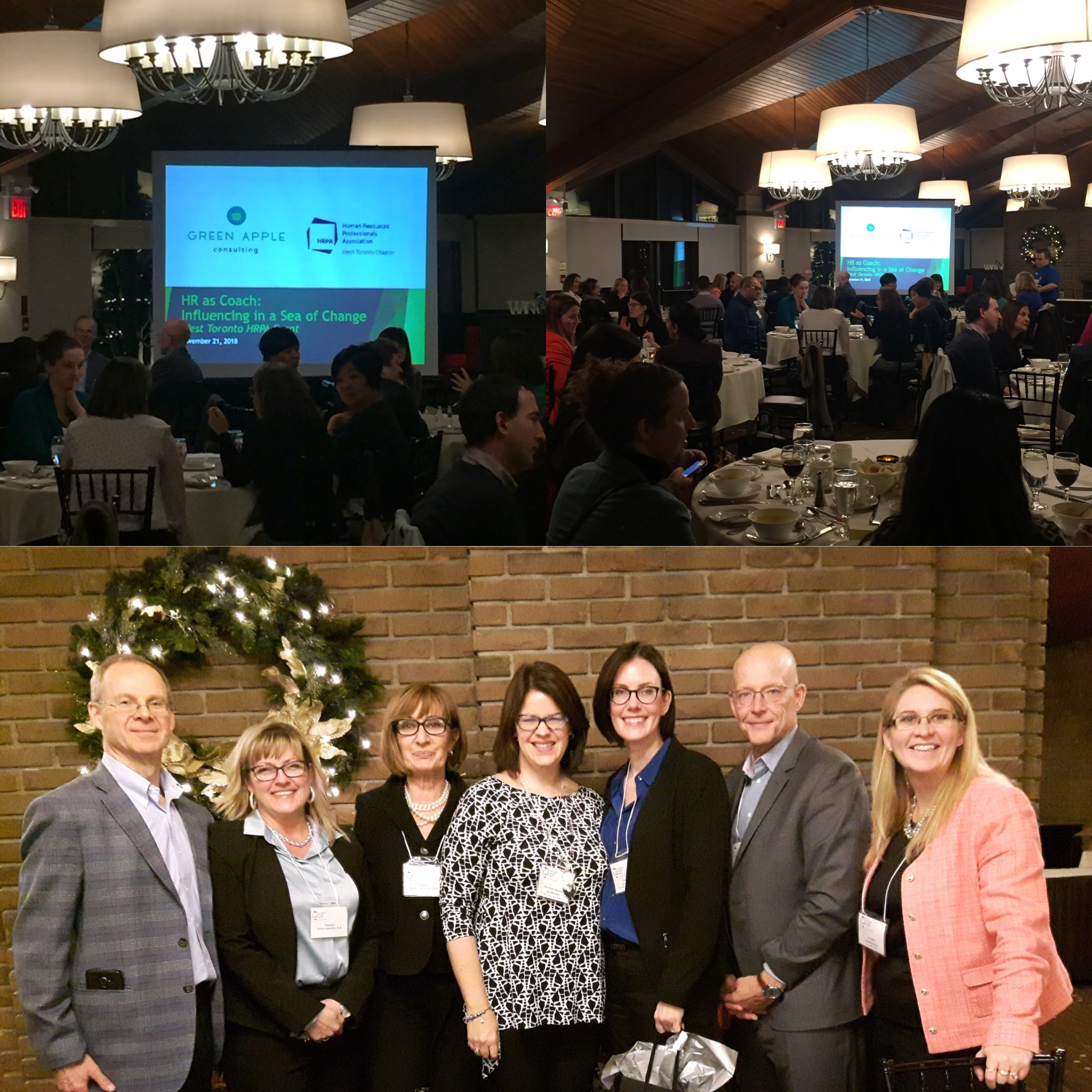 Keynote -HR as Coach: Influencing in a Sea of Change - I was honoured to deliver the event Keynote at the West Toronto HRPA Chapter Event on November 21, 2018. The event drew over 70 HR Leaders to hear my approach to change management for HR professionals, followed by a moderated panel discussion.See all the event details by clicking here.