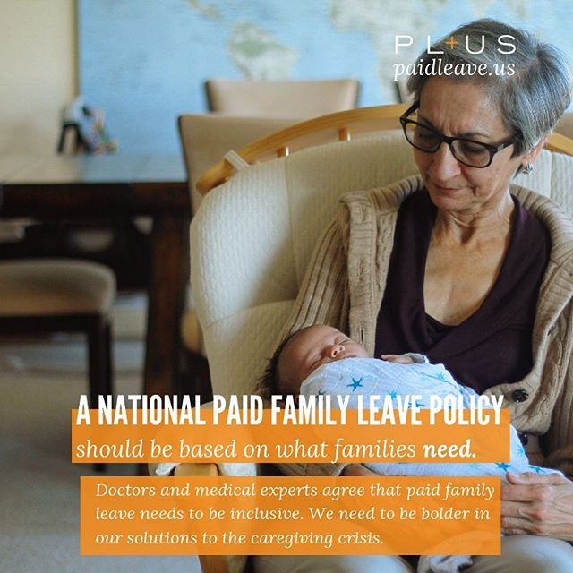 """""""What does #PaidFamilyLeave that works for all U.S. families look like? It looks like at least 6 months of leave. It looks like not taking a pay cut in a moment of family or personal health crisis. Learn from @georgetownlawofficial and Inequality and @paidleaveus about a policy based on what working families actually need. Link in bio!  #family #familytime #paidleave #workingfamilies #medicalleave #personalleave #maternityleave #paternityleave"""""""