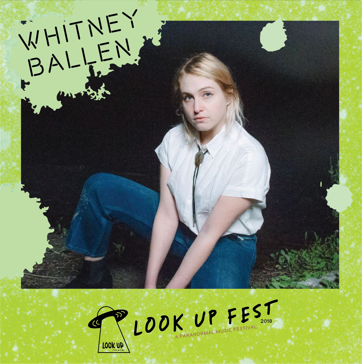 Whitney Ballen - Catch Whitney Ballen and her band playing at Look Up Fest 2018!