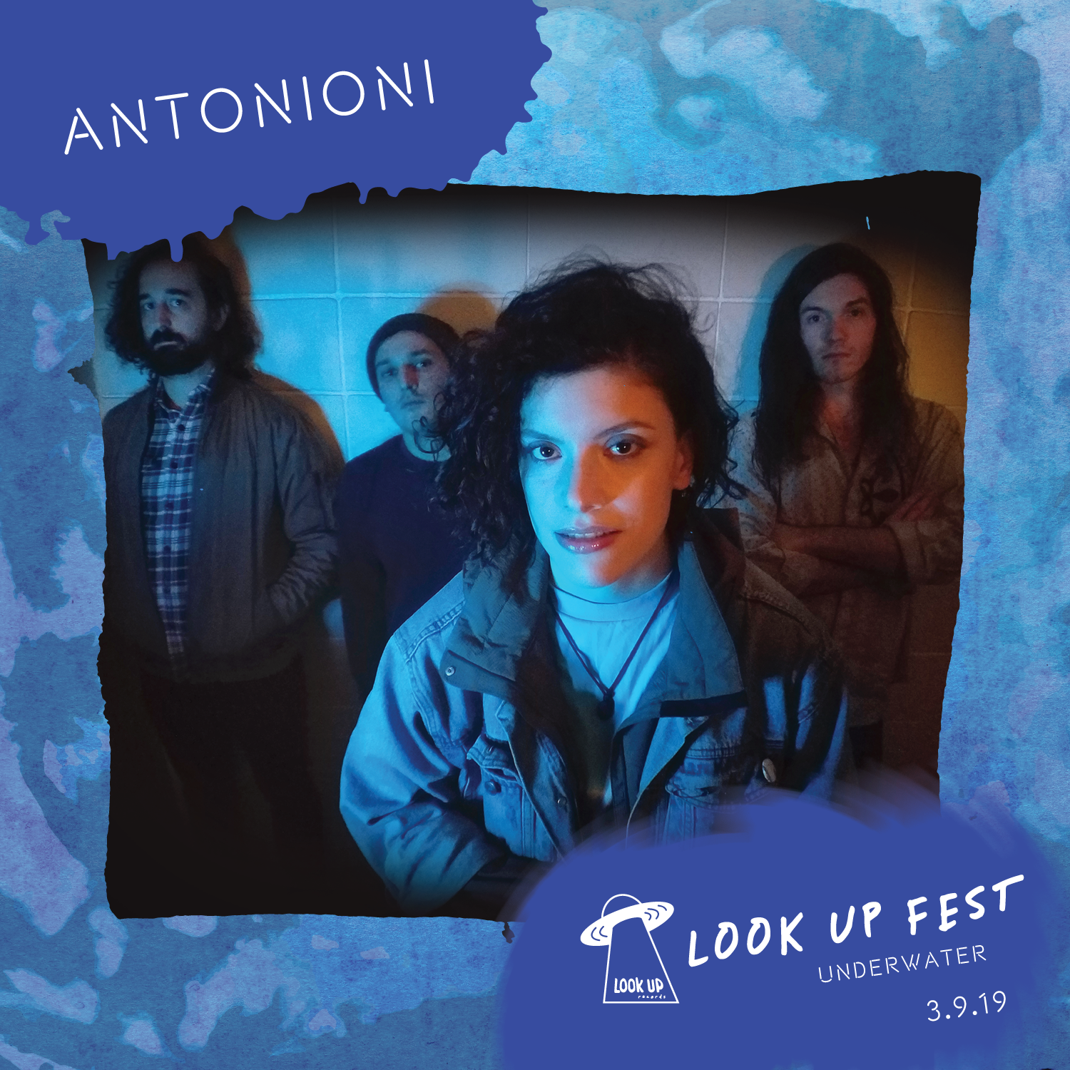 ANTONIONI - Antonioni began in 2016 when longtime Seattle solo artist, Sarah Pasillas, recruited band members to flesh out and record several songs she had written for her next album. Their new EP, The Odds Were All Beating Me, a polished and more expansive effort - was released in January 2019 on Den Tapes. The Odds Were All Beating Me was recorded with Rick Hoag (Lonely Mountain Lovers) and mastered by Levi Seitz (Jenn Champion, Pearl Jam, Sloucher). Inspired by sci-fi literature, surrealist films, and her own personal mythology, the EP consists of five songs, finding vocalist Sarah Pasillas carefully examining the internal peaks and valleys of coping with anxiety and uncertainty. The Odds Were All Beating Me incorporates bits of 90's guitar-driven alternative, Eno-esque new wave, and smooth dreampop into eclectic and layered Northwest indie -pop/rock.