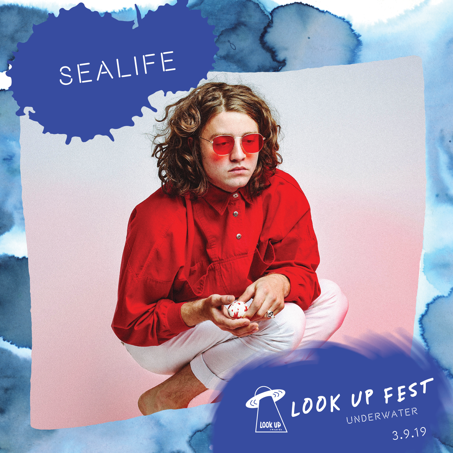 SEALIFE - Sealife brings love-coated psychedelic pop from Seattle straight to your heart. Their sonic storytelling paints a landscape of vulnerable lullabies. Originating from bedroom pop and stream-of-consciousness songwriting, Sealife pulls from Sade, Steely Dan, and The Smiths to craft lush sonic dreams. With a nod to Seattle grunge, Sealife is no stranger to fuzz or esoteric lyrics. Brennan Moring, lead for Sealife, also sings and plays keys for Seattle psych poppers Peyote Ugly. Brennan began writing poetry and playing guitar at an early age, but after learning piano, he began a conquest for total instrumental control in his songwriting and storytelling. Now, with Sealife, he's writing love songs from the perspective of the ghost that quietly waits up for you at night.