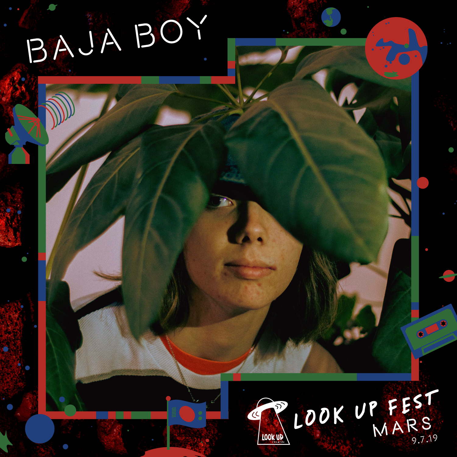 """BAJA BOY - As Baja Boy, 16-year-old Christian Taylor has captured the hearts and souls of Washington's music scene. After eating Taco Bell for two months straight, the name Baja Boy was given to Christian for his affection for the Baja Blast. When he is not eating Crunch Wrap Supremes, Baja Boy writes, produces and records groovy synth packed indie pop that has been wowing crowded basements and DIY venues all over the Pacific Northwest. Baja Boy's dreamy swirling soundscape of music contains lyrics that are personal and relatable to, by all. In March, Baja Boy, did an in studio performance of the songs """"Lonely"""" & """"Tums"""" at the radio station KEXP, they also placed 2nd in the 2019 Museum of Pop Culture's Soundoff Competition. Baja Boy's song """"Lonely"""" has over 100,000 streams."""