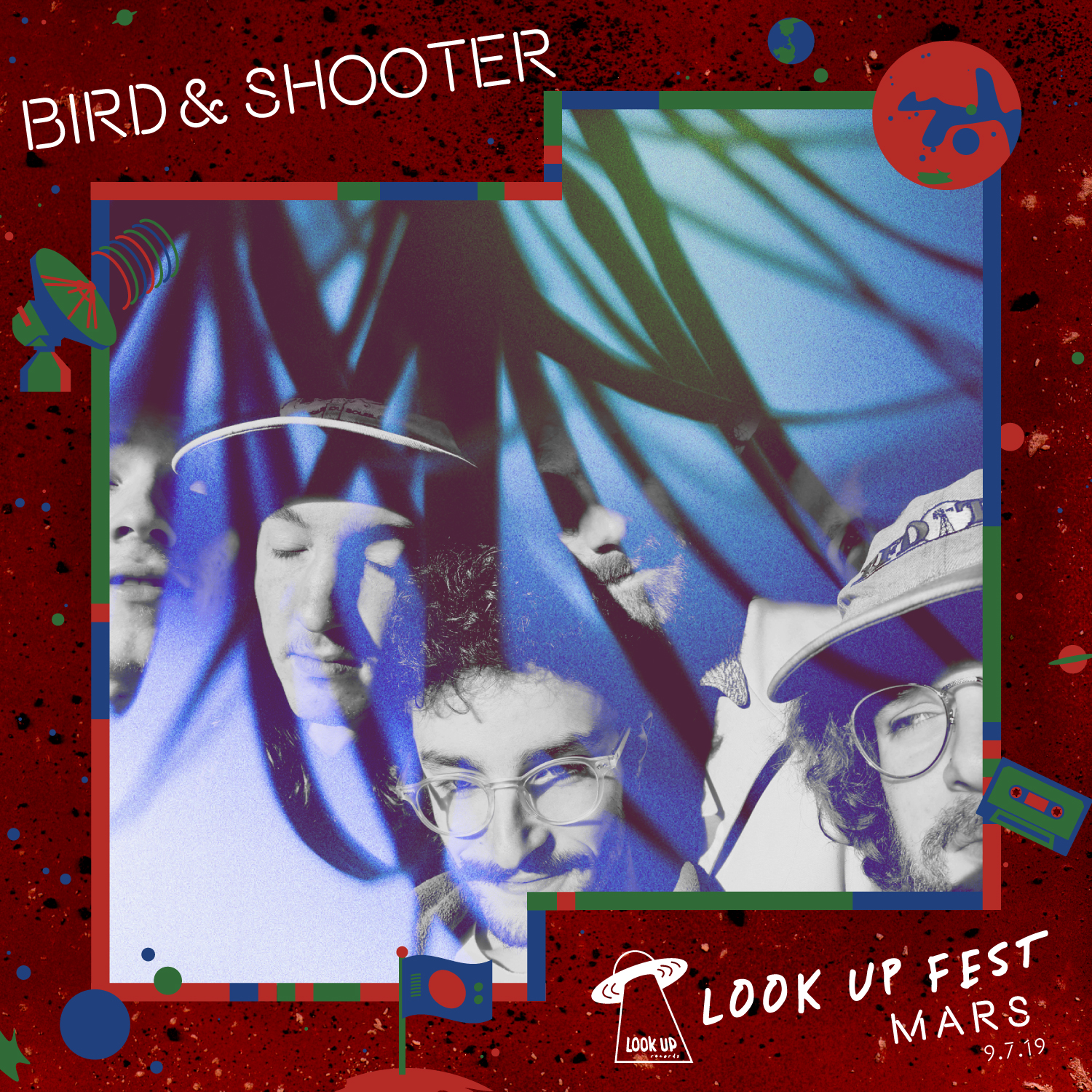 BIRD & SHOOTER - Bird & Shooter are a brand new 6 piece psych-pop band from Bellingham, WA. Their first single