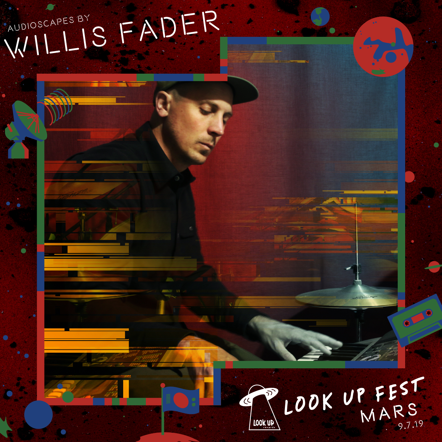 WILLIS FADER - Space is deep. And you need Willis Fader, your multidimensional audio-friend, along for the ride. Yes. That's right. Just chill. Think. Feel. Focus. Converse. Share moments with friends and loved ones. Let the sensuous beds of Willis Fader audioscapes enmesh your world.