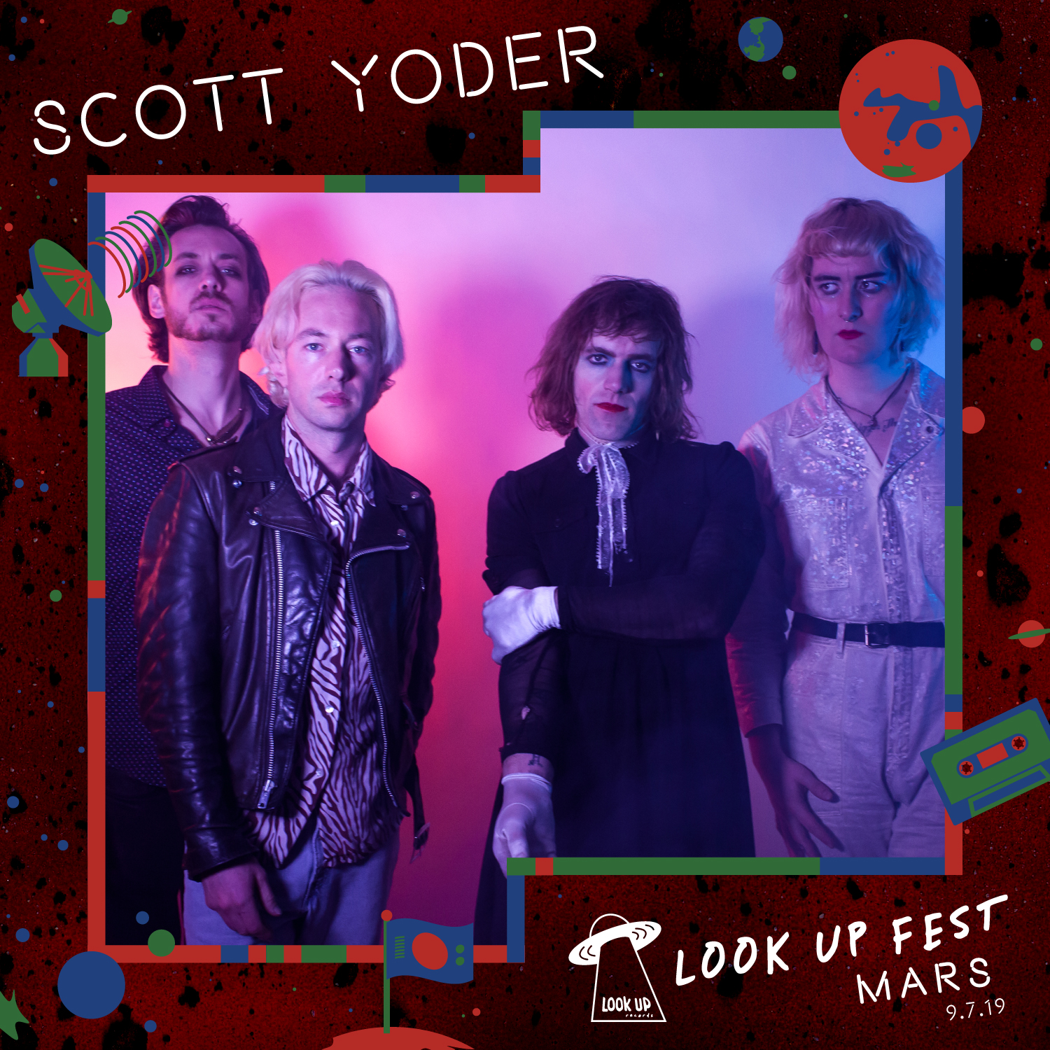 Scott Yoder - Catch Scott Yoder headline Look Up Fest: Mars on 9/7!