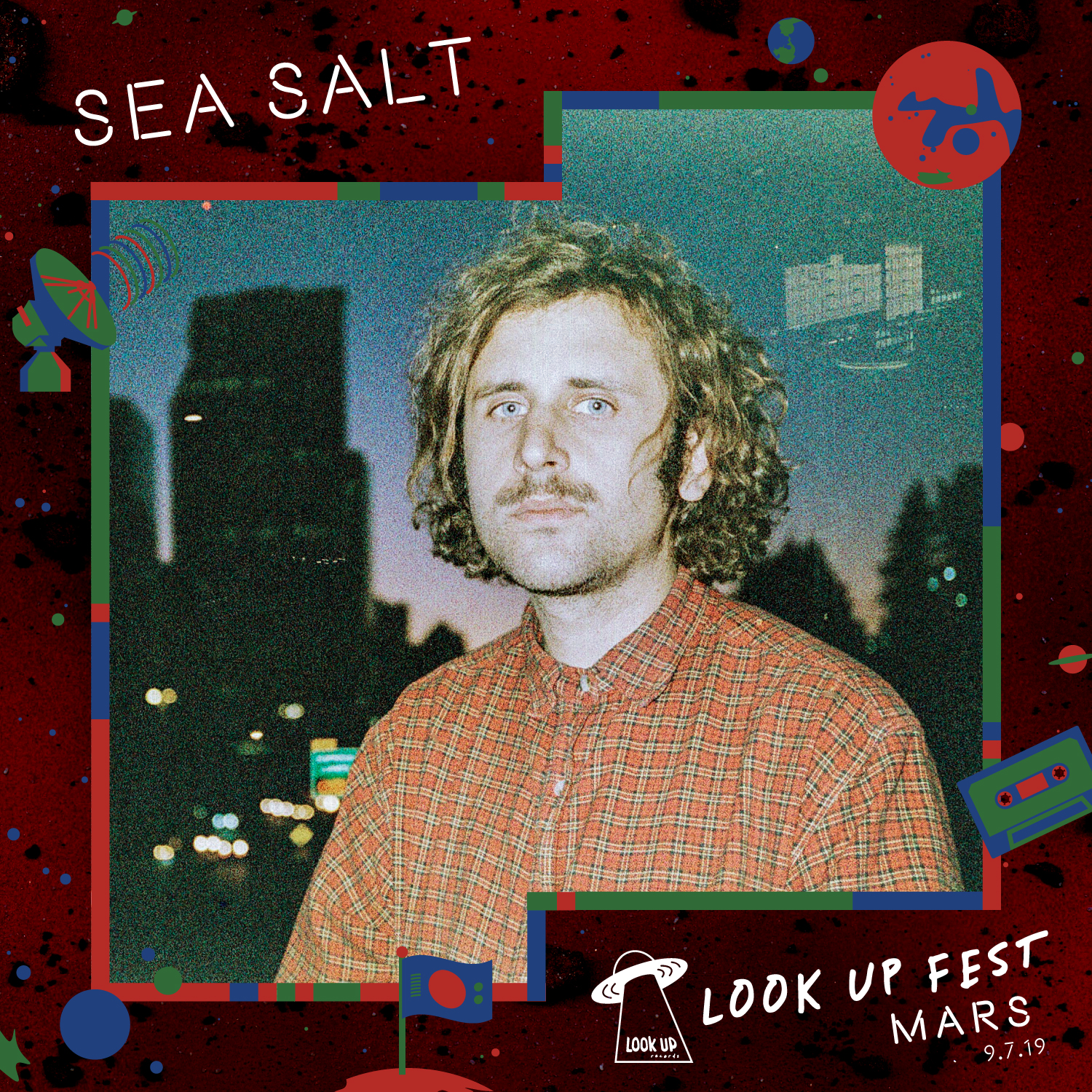 Sea Salt - Catch Sea Salt at Look Up Fest: Mars on 9/7!