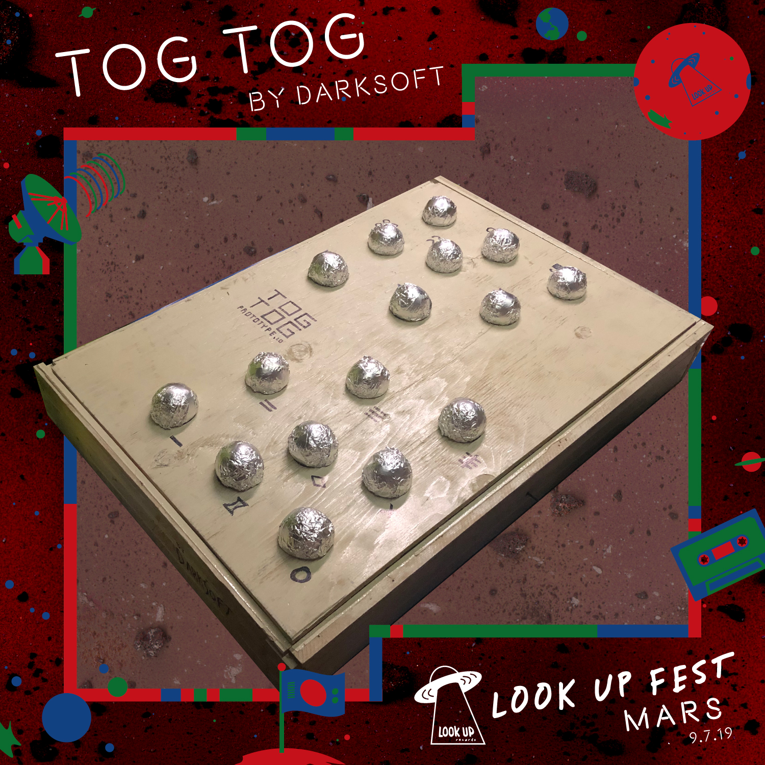 TOG TOG - Acculturate to Martian society by testing out TOG TOG, a prototype Martian musical instrument built by Darksoft. Two can TOG! Or u can Tog solo.