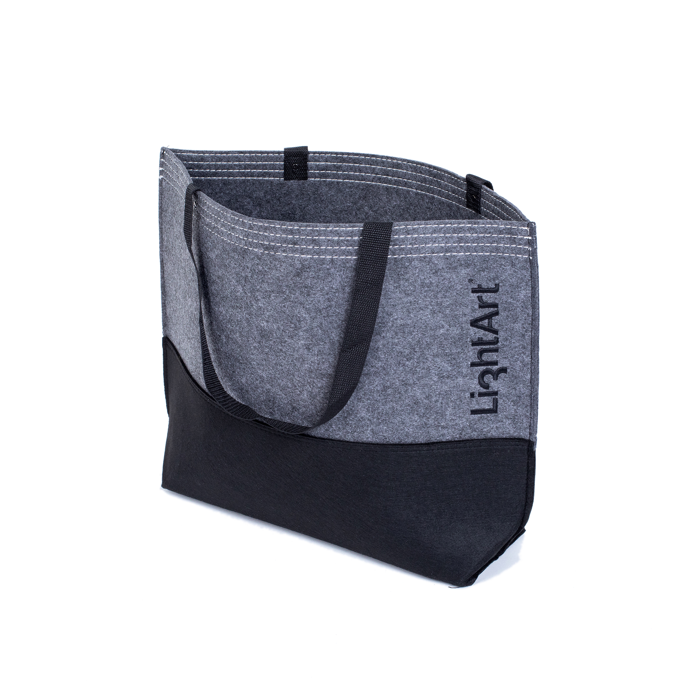 LightArt Felt Tote Bag