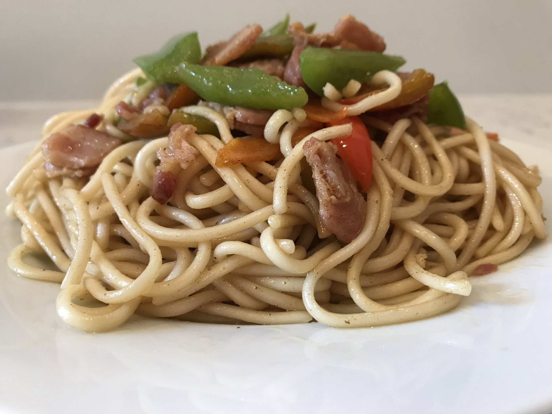 培根面条Bacon Noodles.JPG