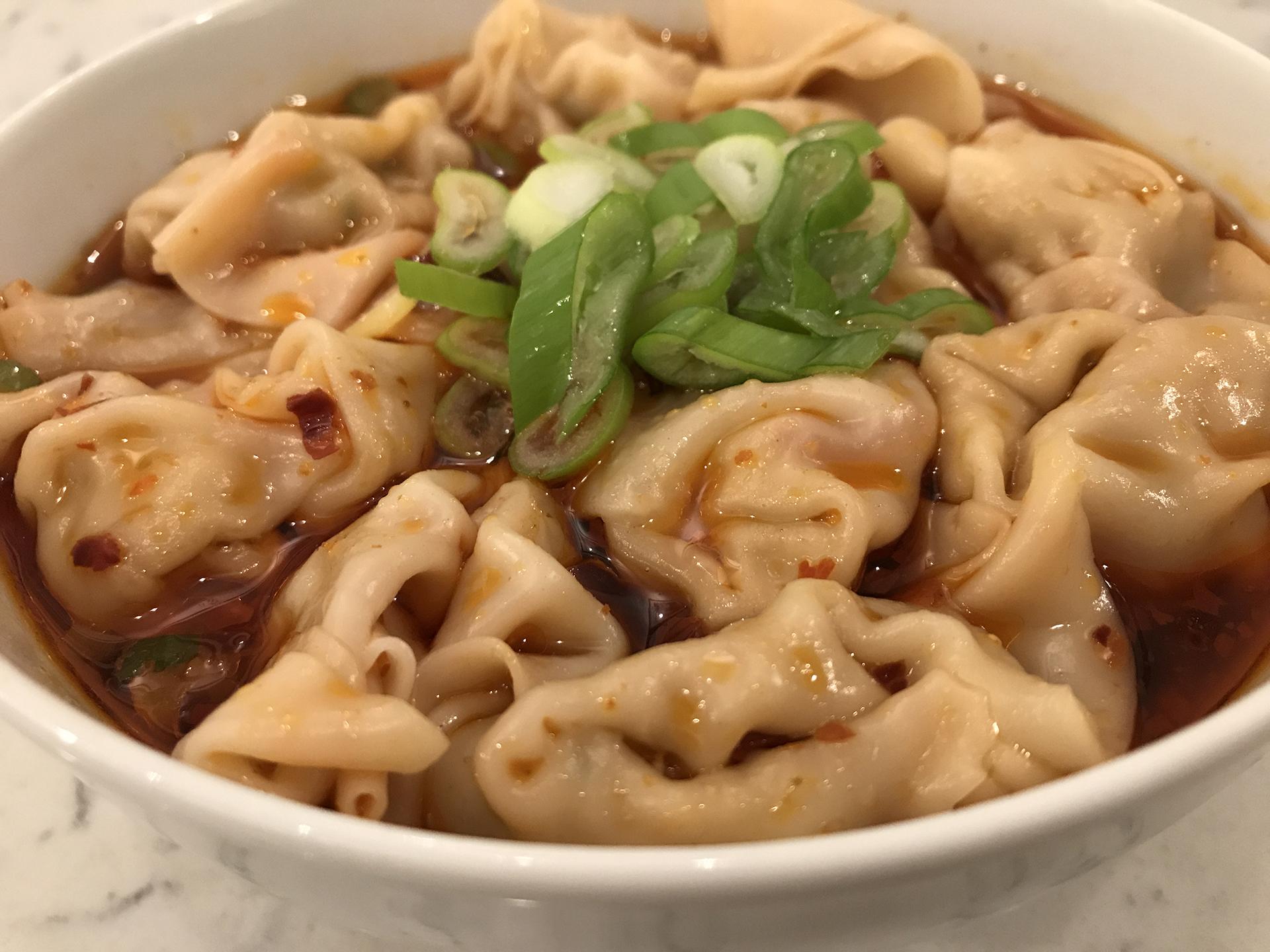 红油抄手 Chilli oil baby dumplings.JPG