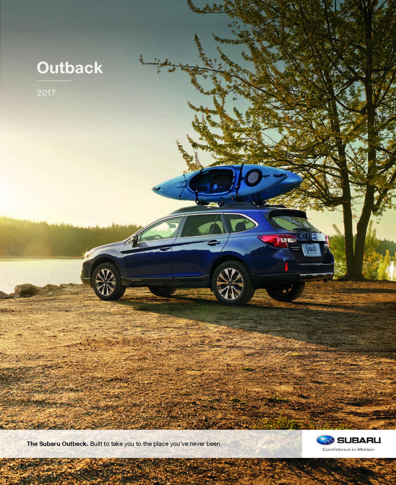 2017 Subaru Outback Brochure