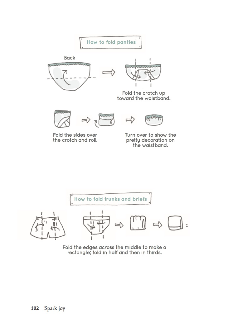 How to: Fold Intimates