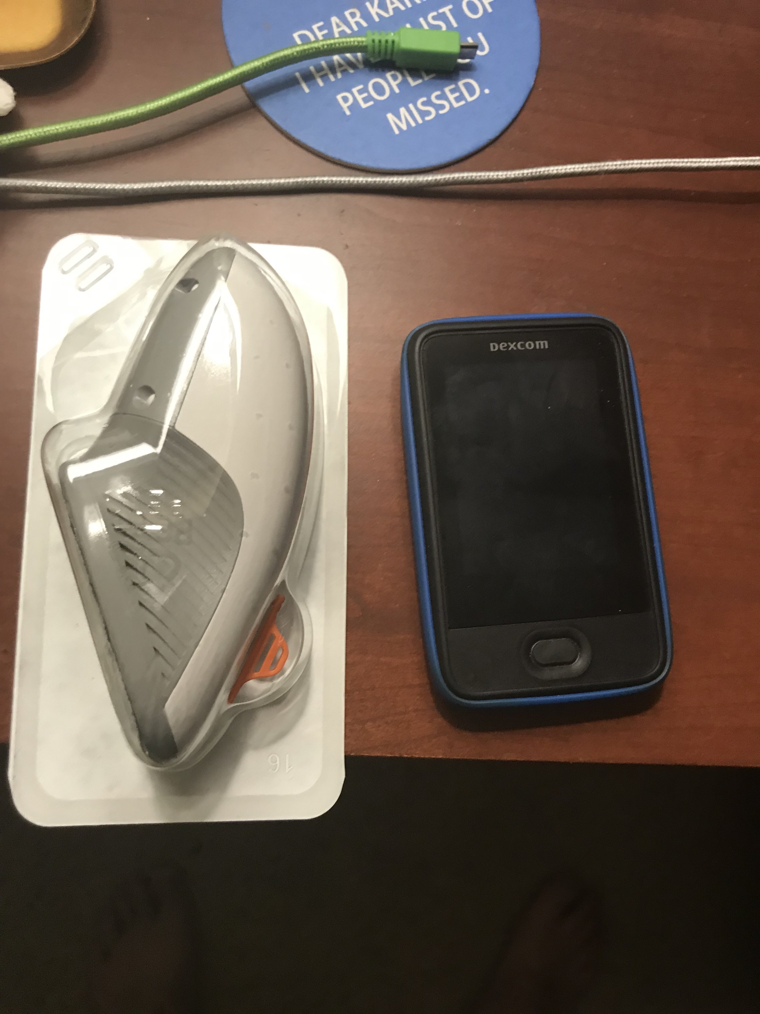 This is my Dexcom G6.