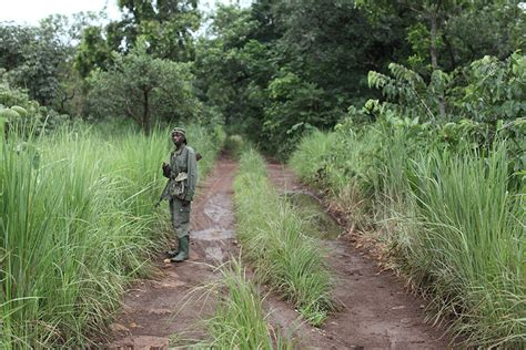 The LRA dressed in army uniform and had dreadlocks