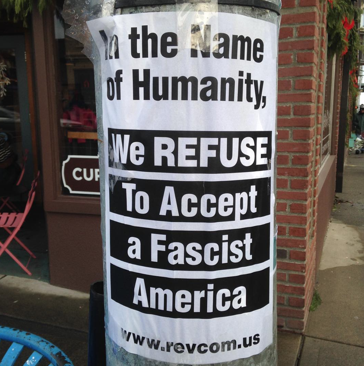 Copy of In the Name of Humanity We Refuse to Accept a Fascist America