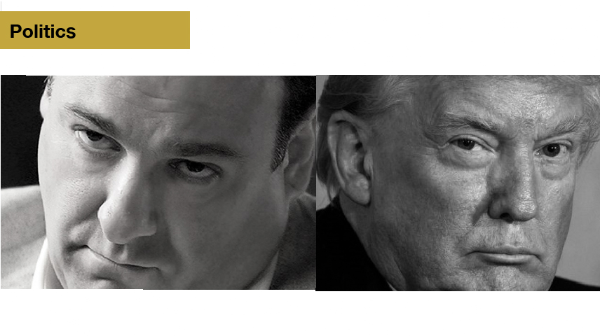 Tony and the Donald - Let's compare the contrast: America's two favorite crime bosses