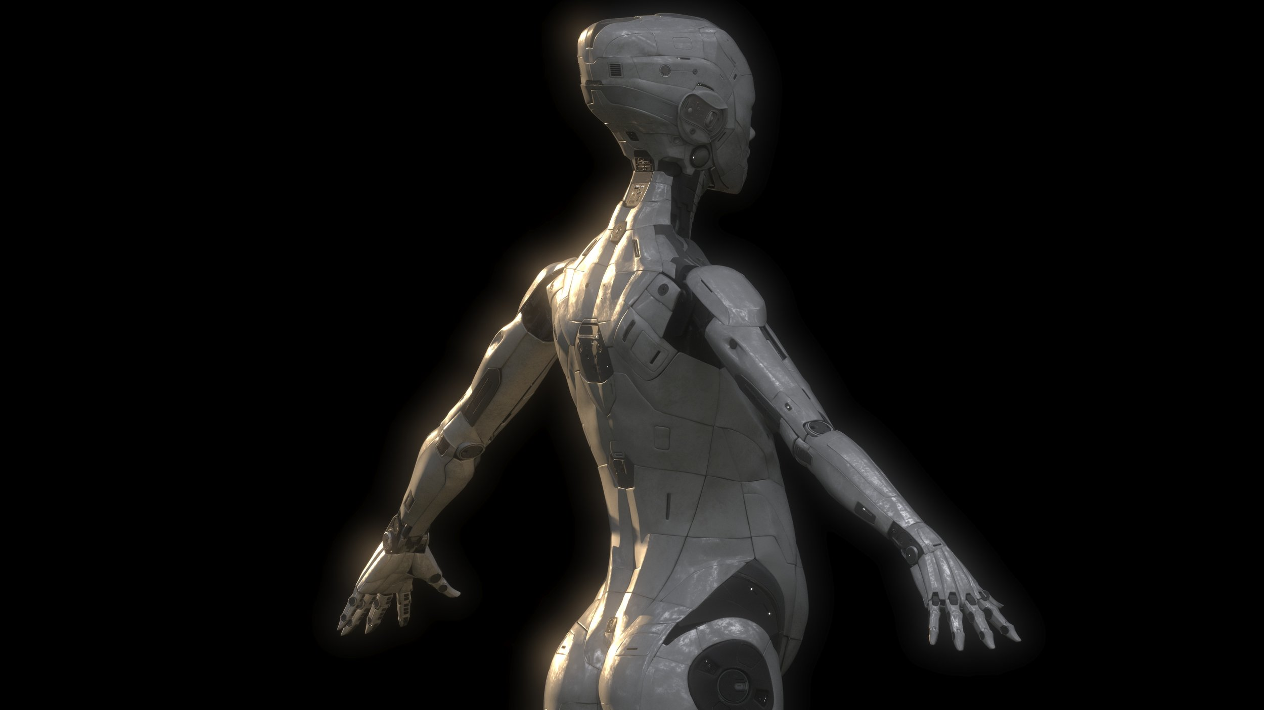 3/4 Back. Rendered V-Ray 3DS Max