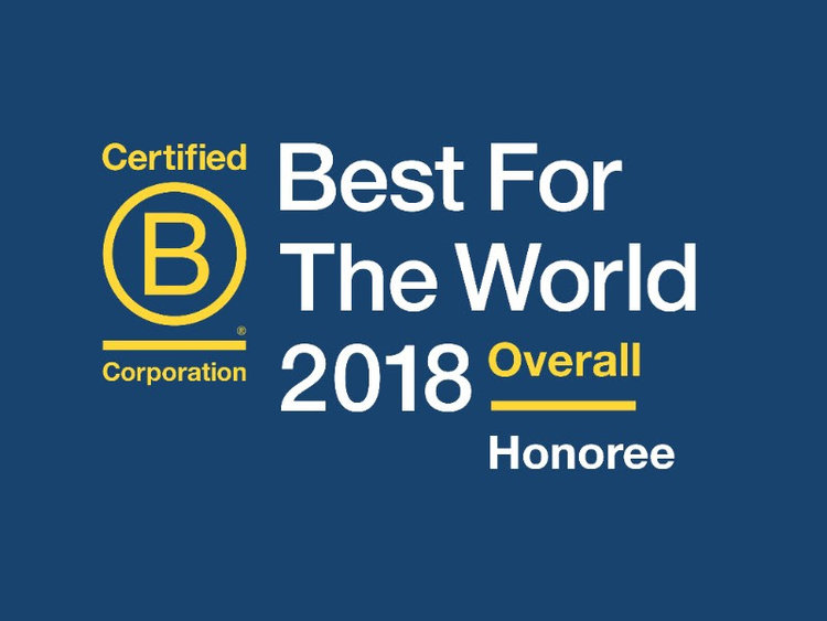 In 2018, Macroclimate was honored by B Labs as  Best for the World in Creating Positive Impact