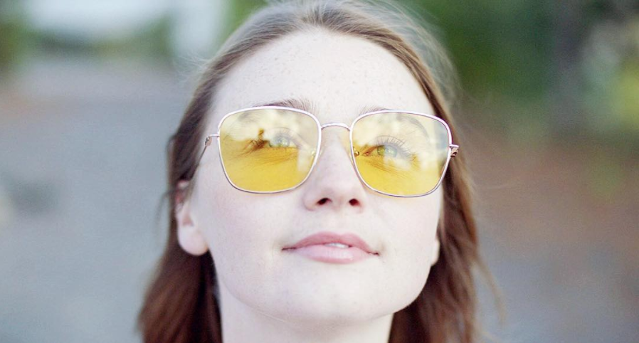 Still of actress, Jessica Barden, from the film ' The New Romantic'