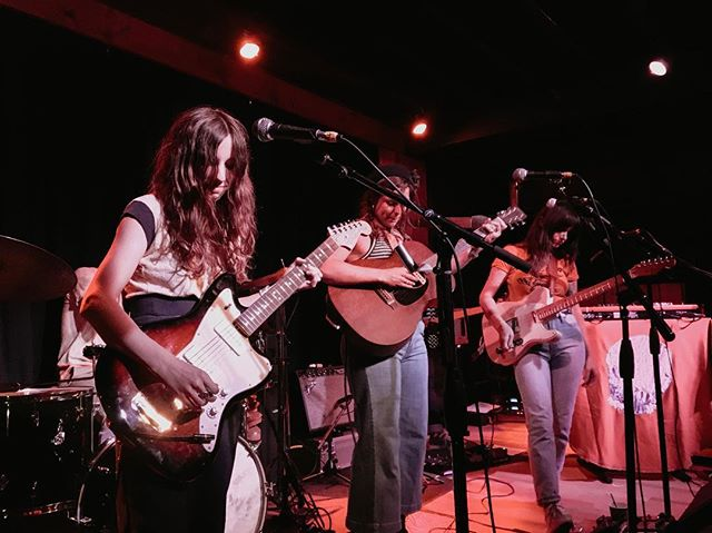 @thewildreeds way way back in the day in 2017. ask me how thrilled I am to see them at my favorite venue tonight ⚡️