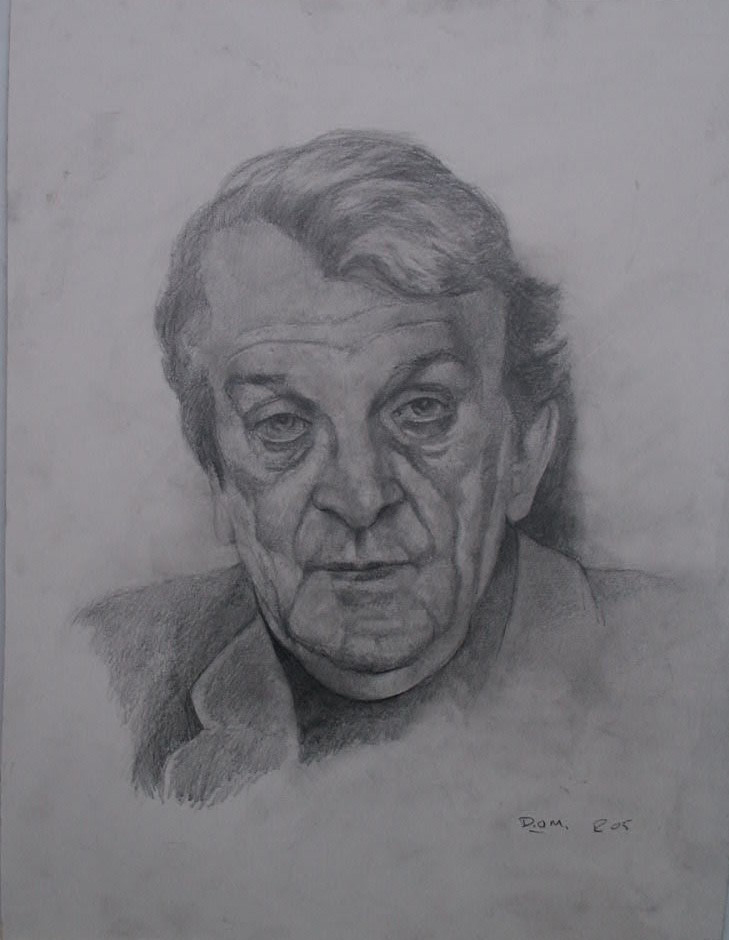 Diarmuid Pencil drawing