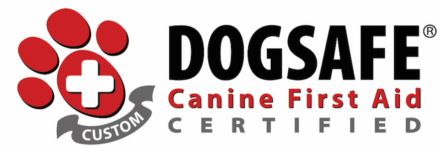 Certified by Dogsafe in Canine First Aid