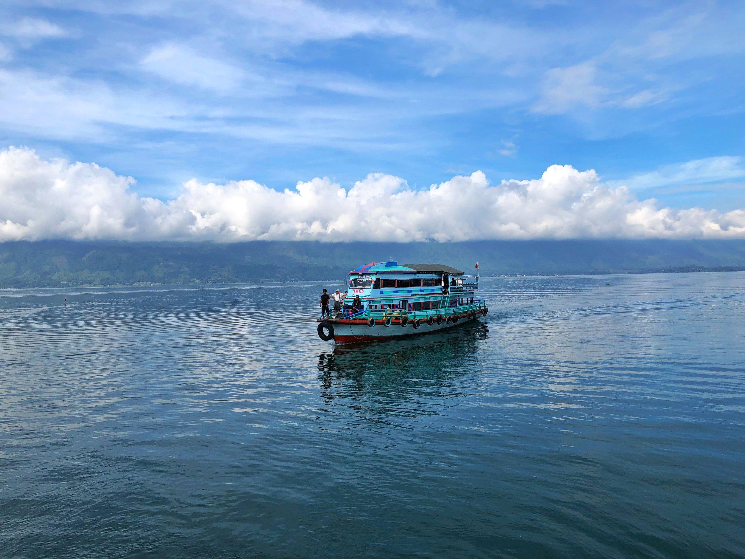 samosir island ferry