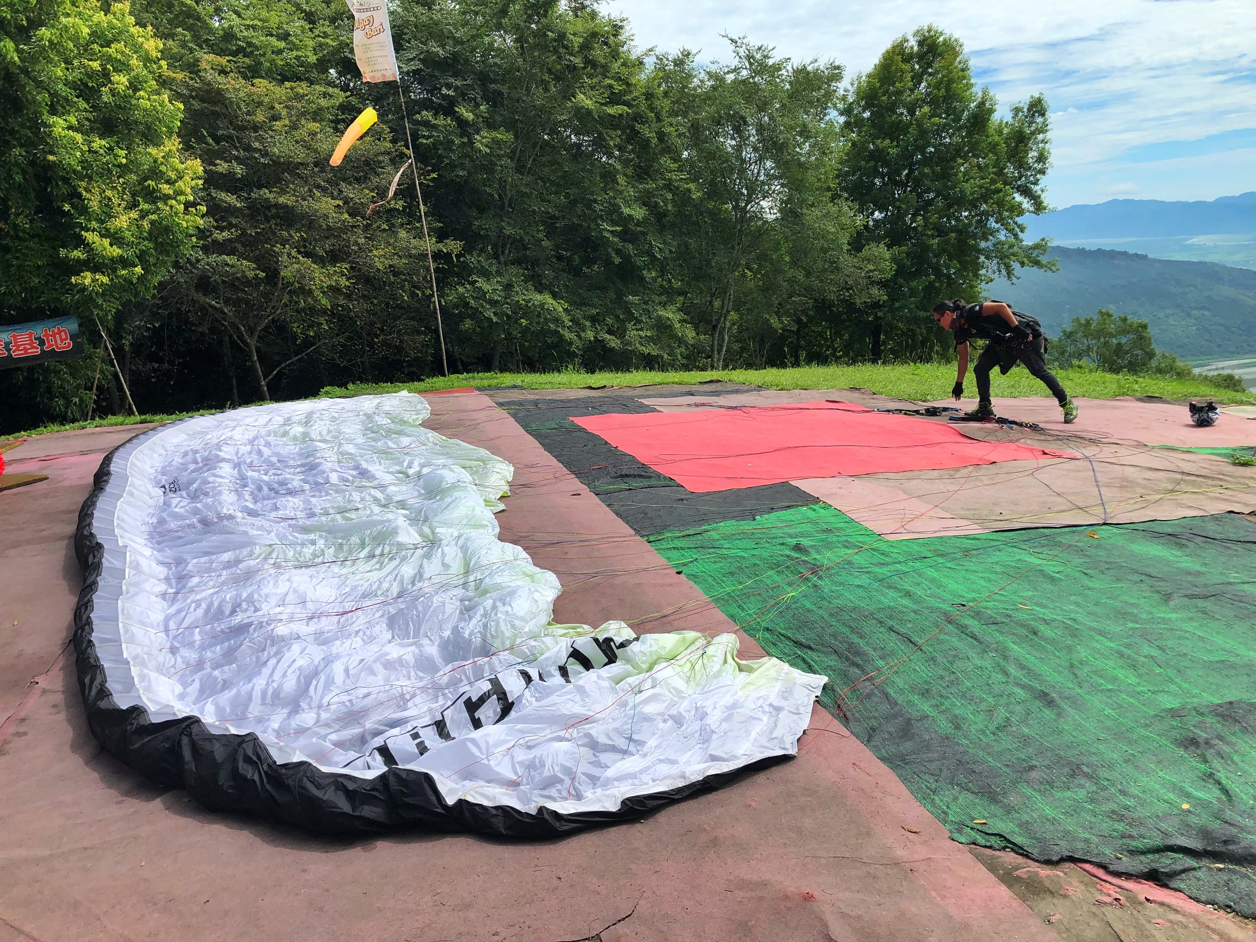 paragliding hualien taiwan