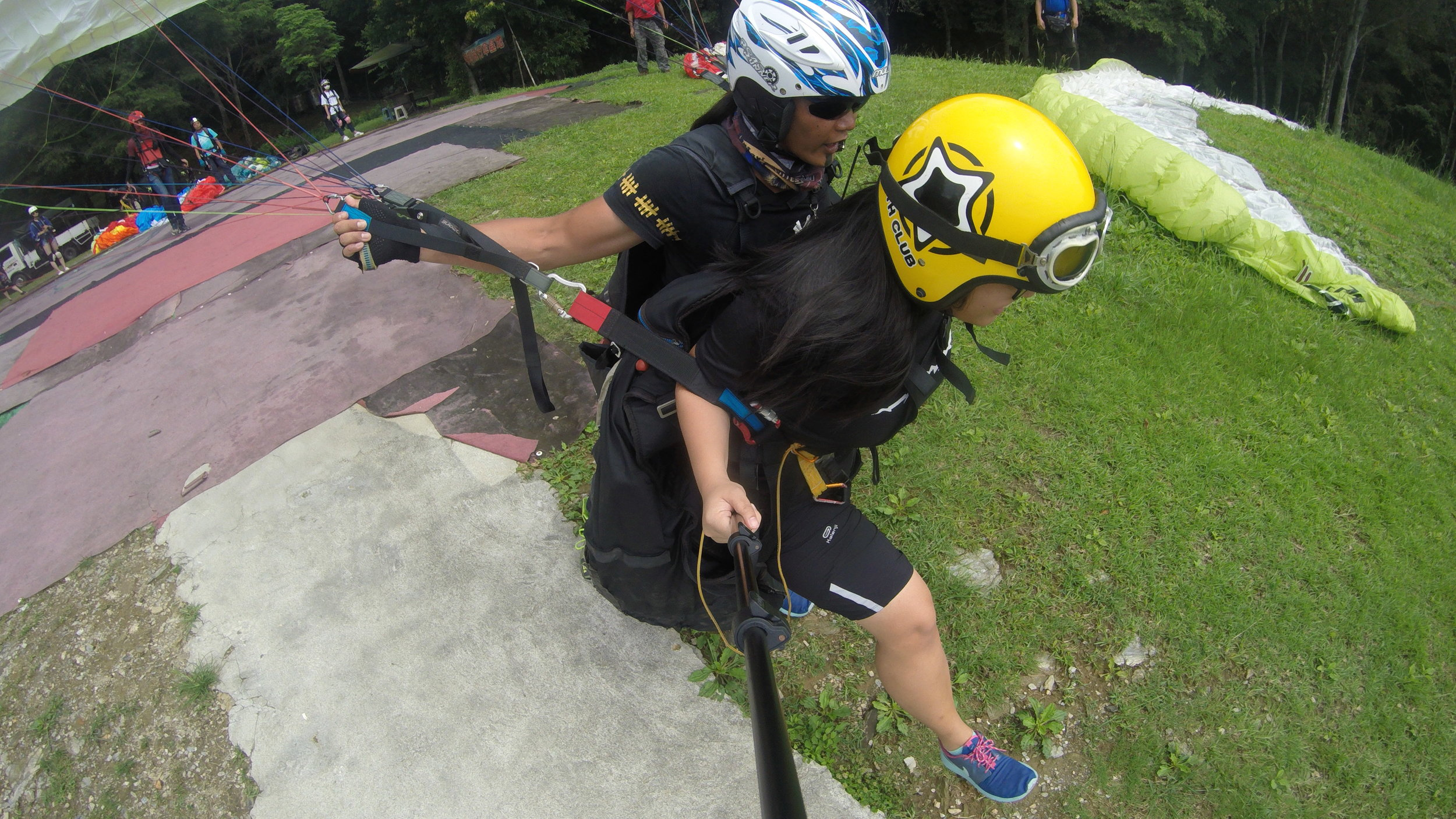 paragliding hualien east rift valley