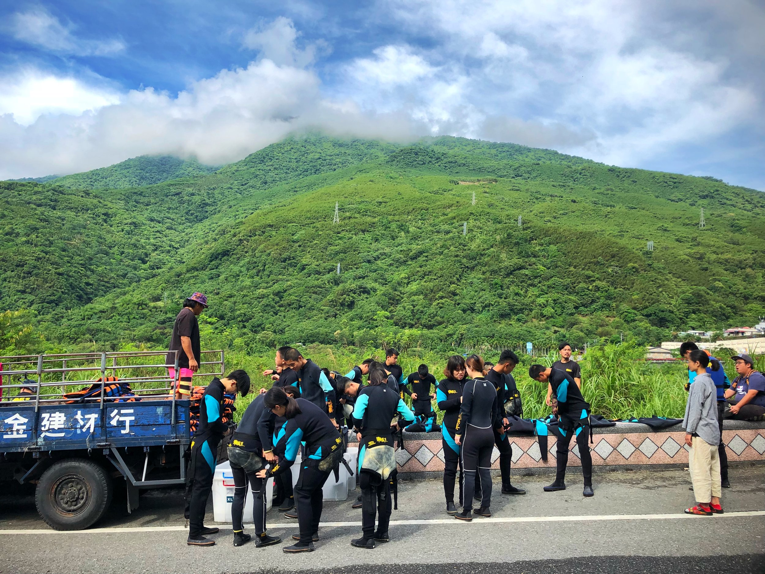 river tracing hualien