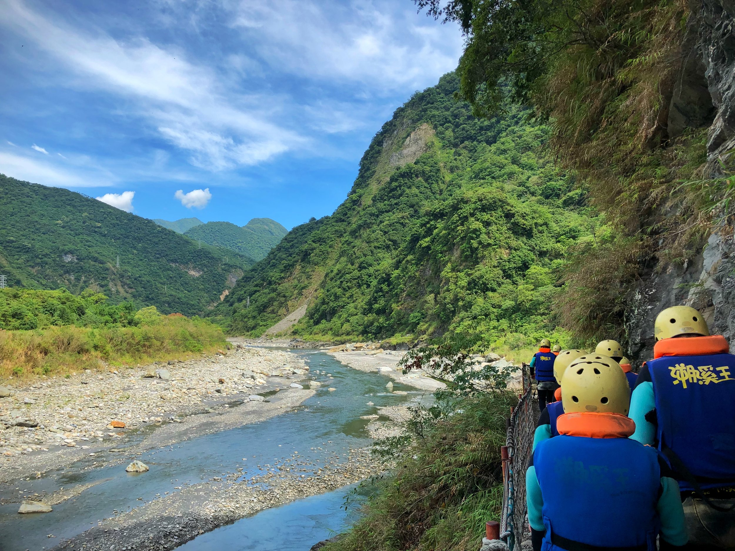 river tracing hualien taiwan