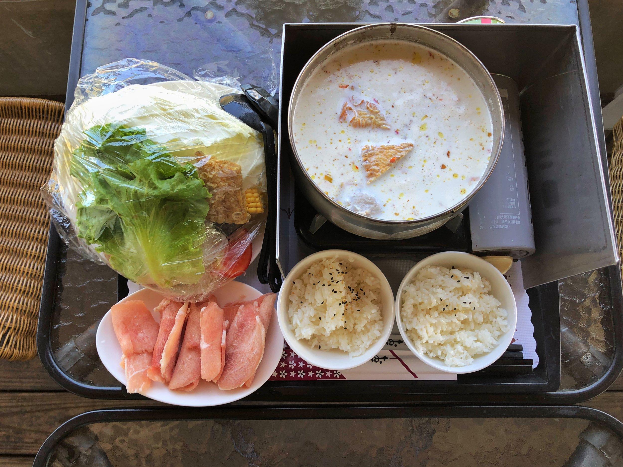 milk steamboat ji zheng ranch