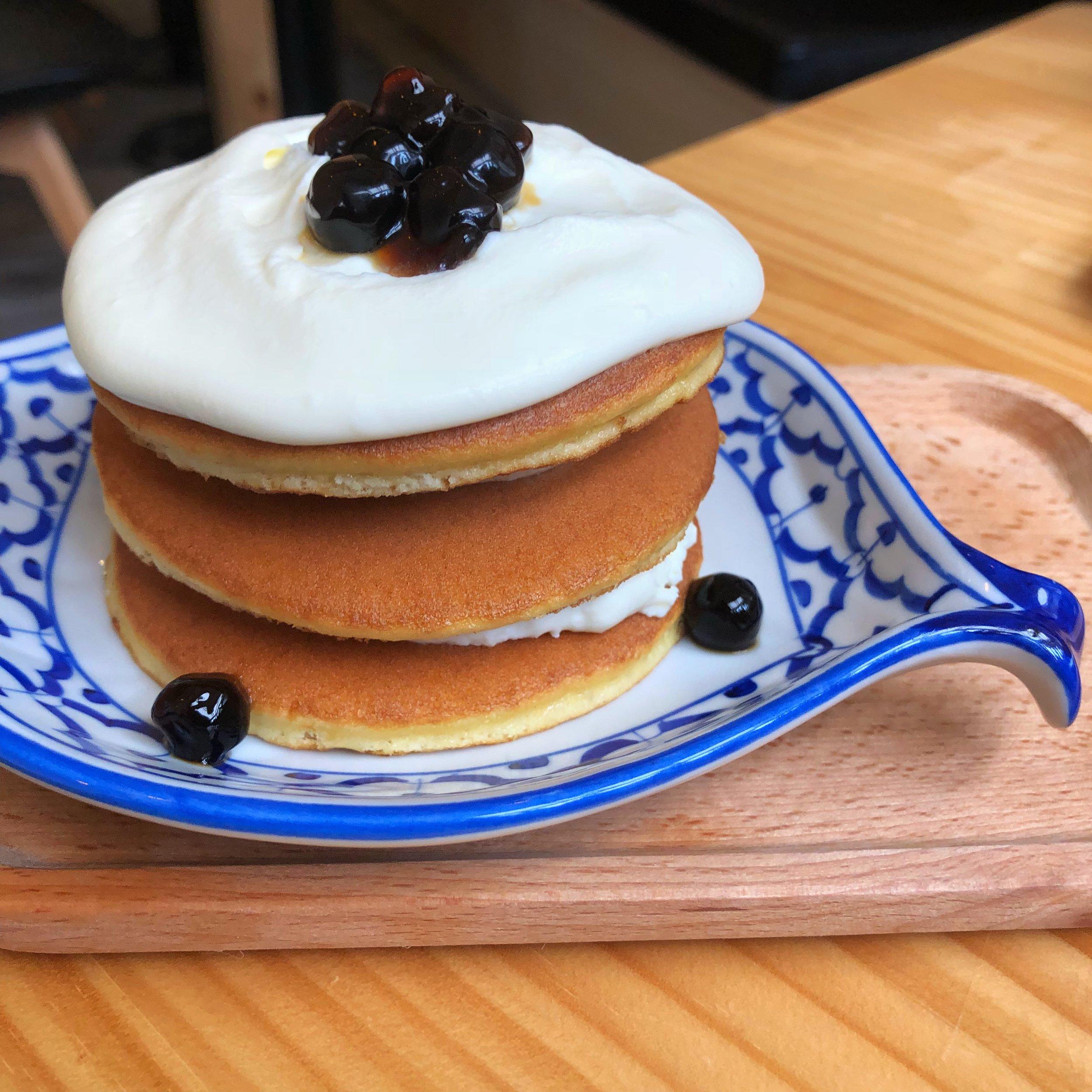 milk tea pancakes tamshui