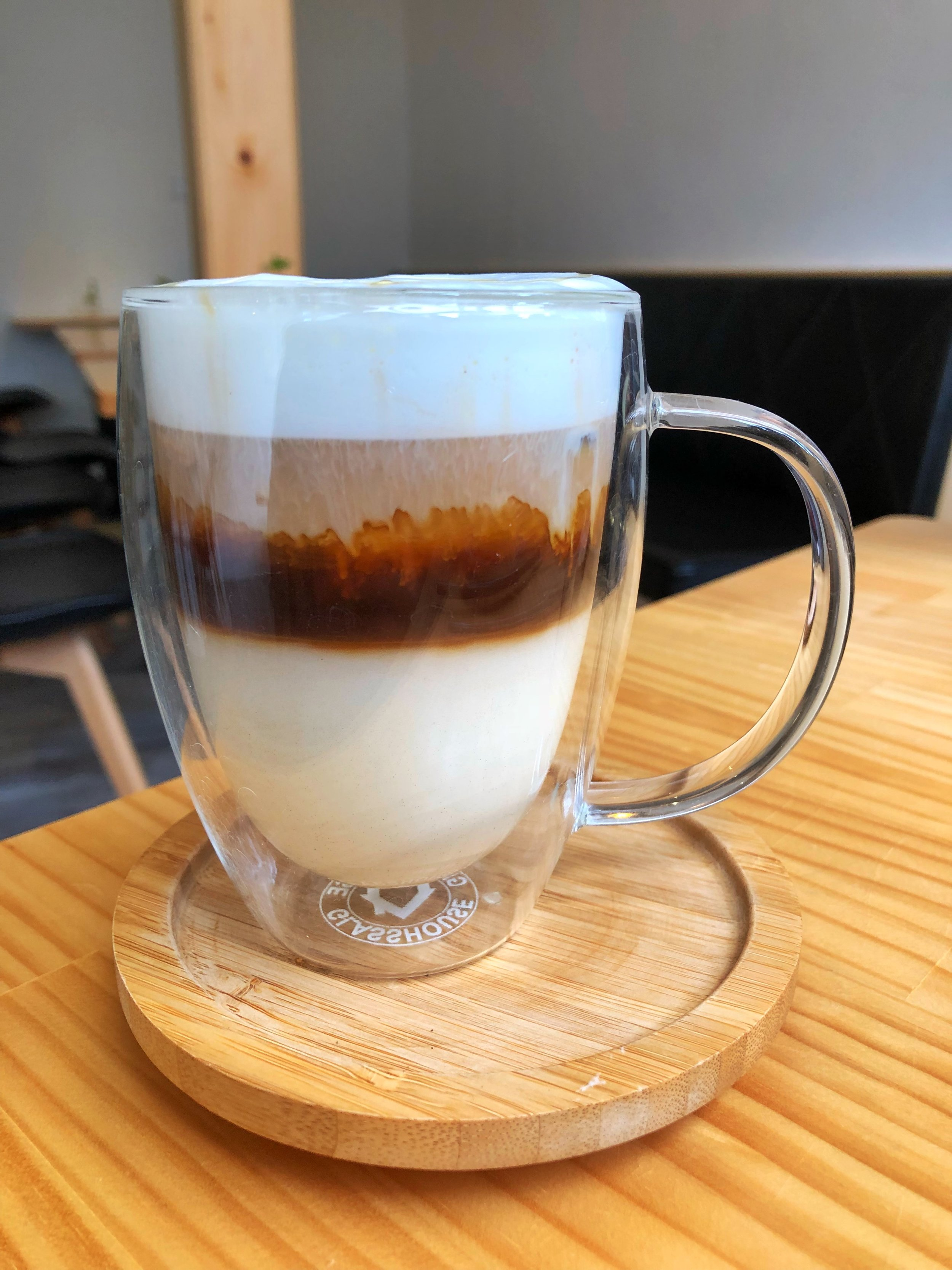 honey iced latte
