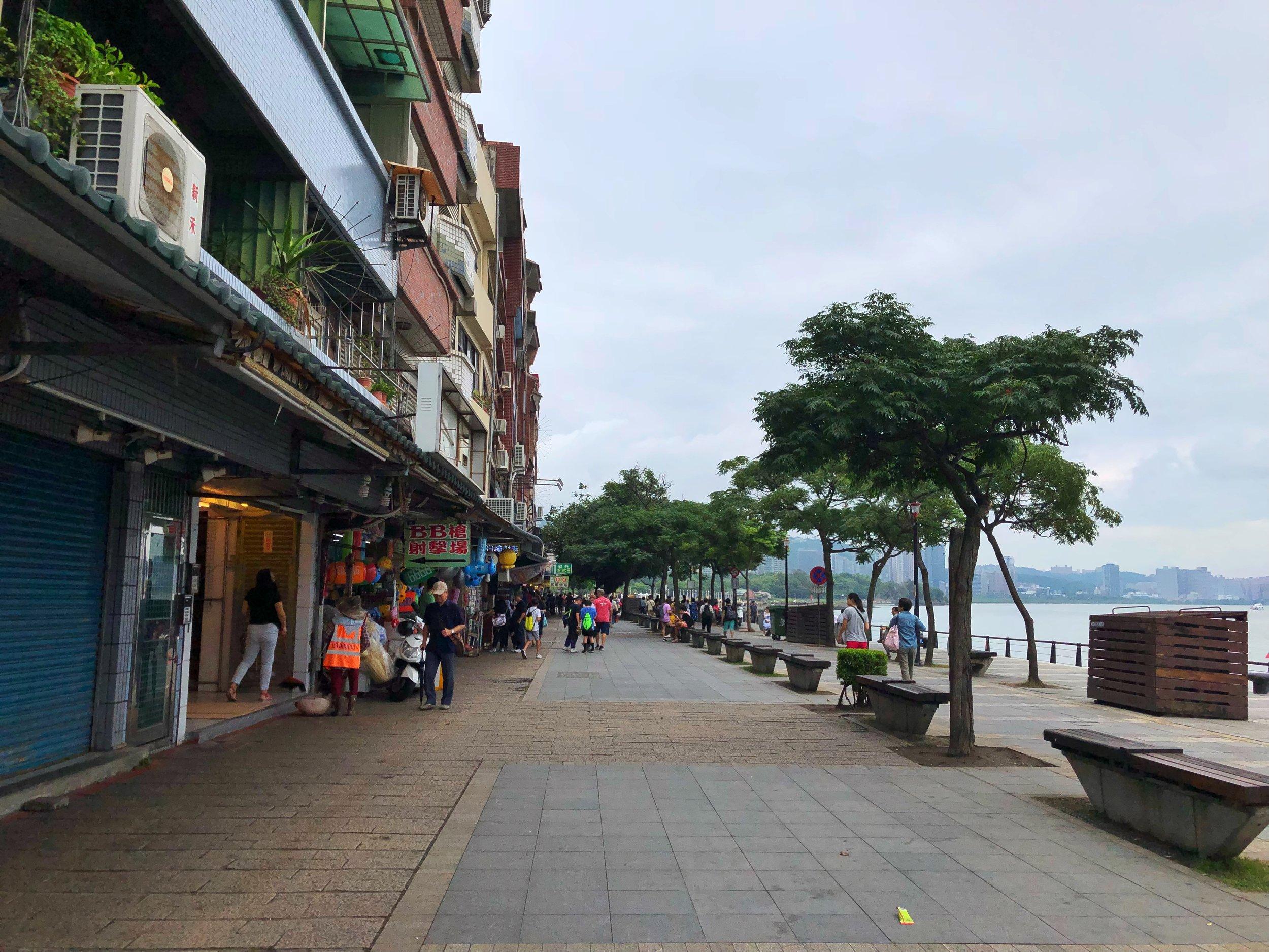 tamshui wharf