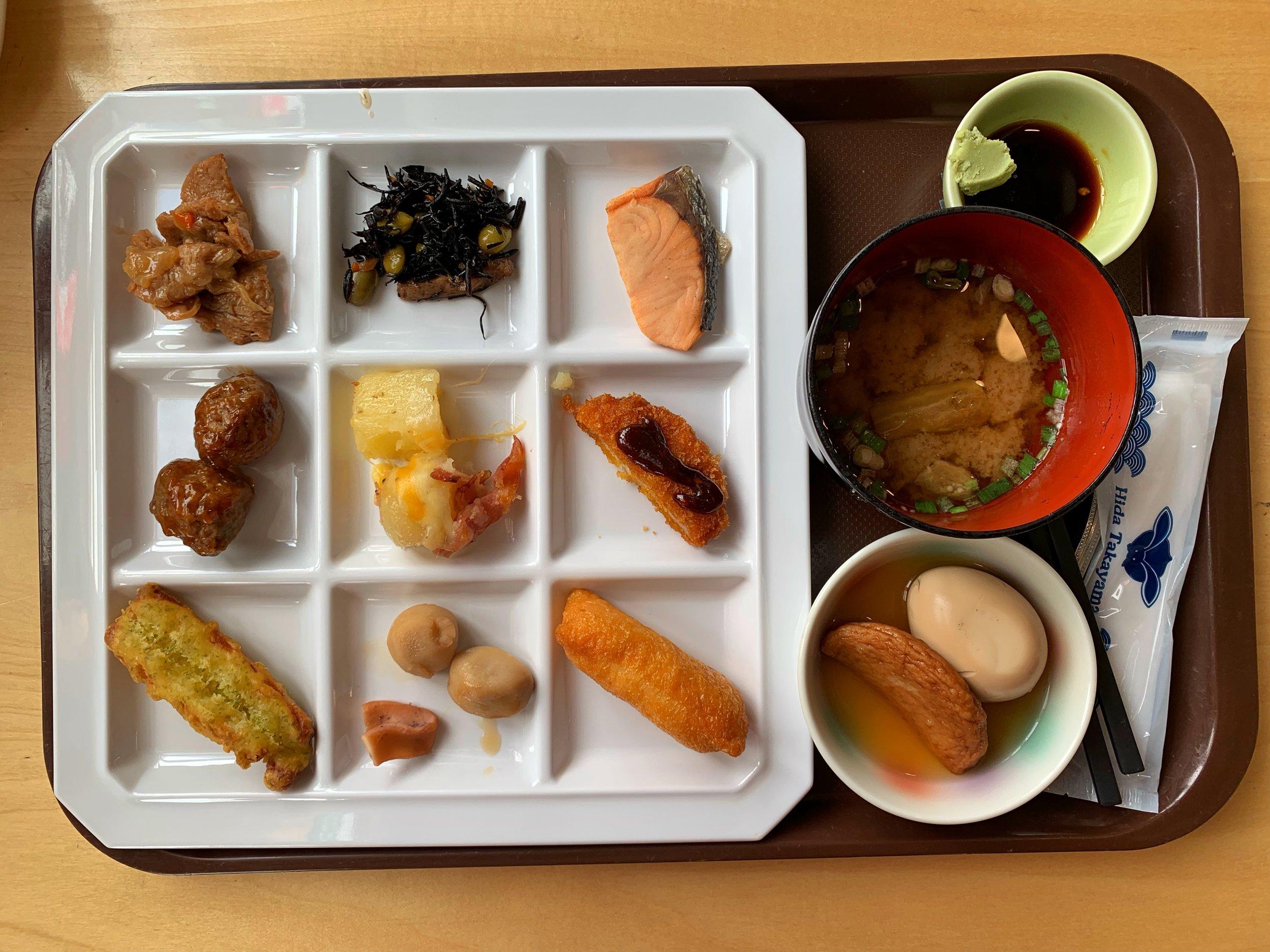 takayama green hotel buffet