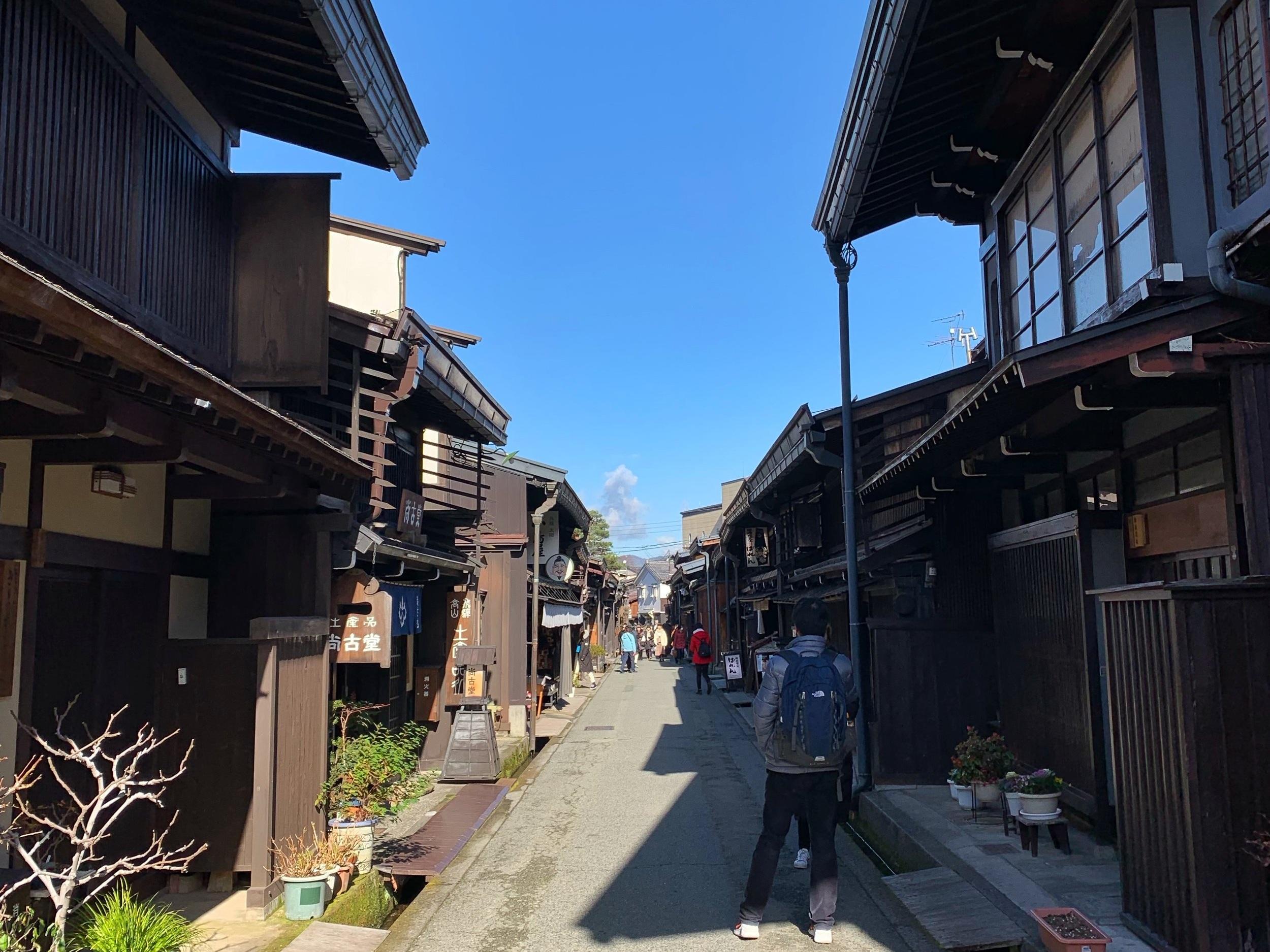 takayama old town japan