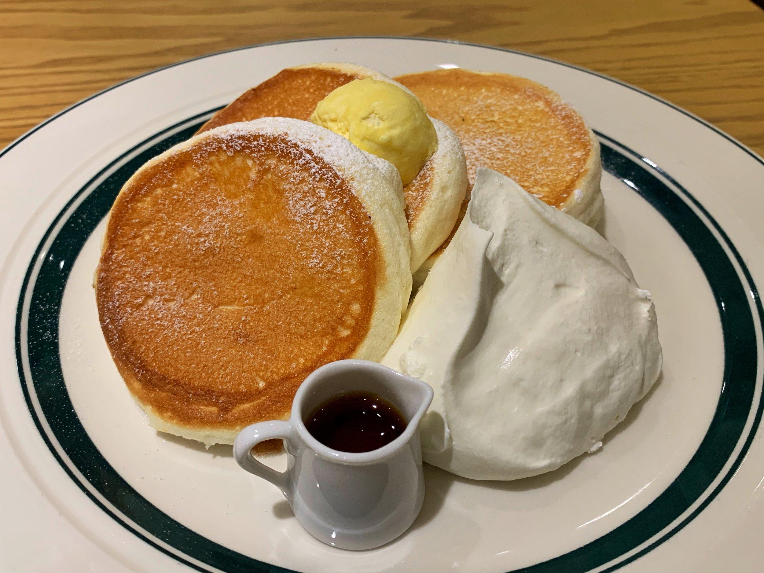 gram pancakes nagoya japan