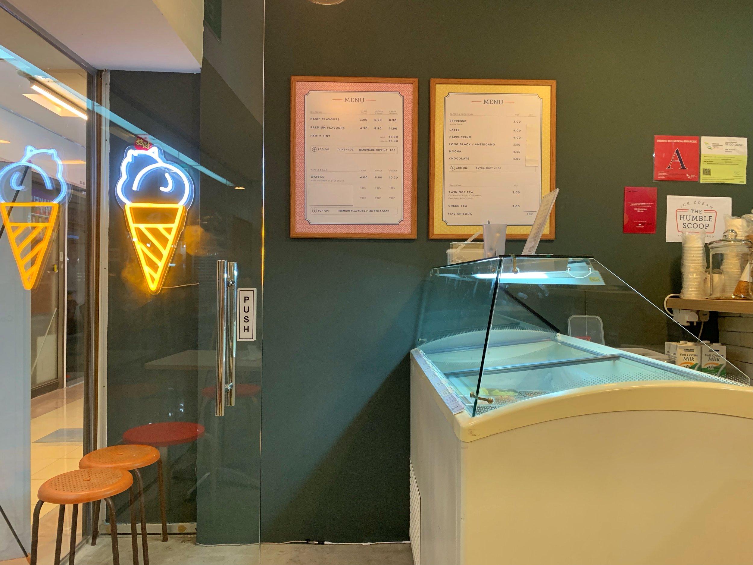 the humble scoop ice cream singapore