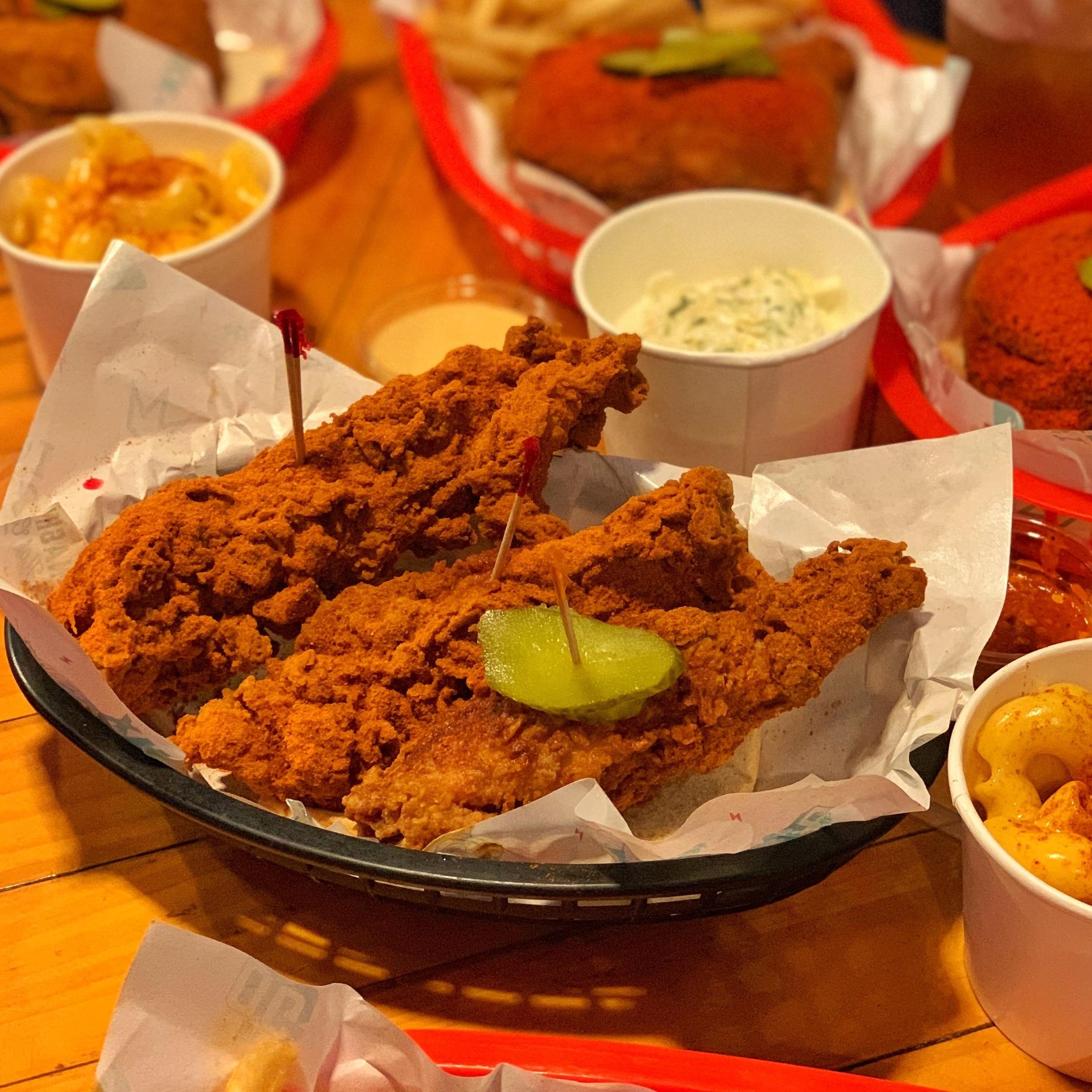 chix hot chicken singapore fried chicken