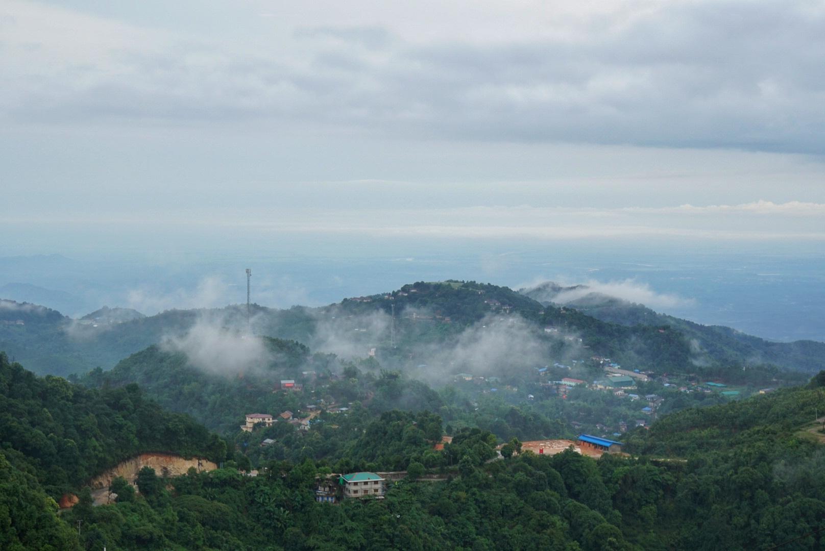 myanmar thandaunggyi mount naw bu baw prayer mountain