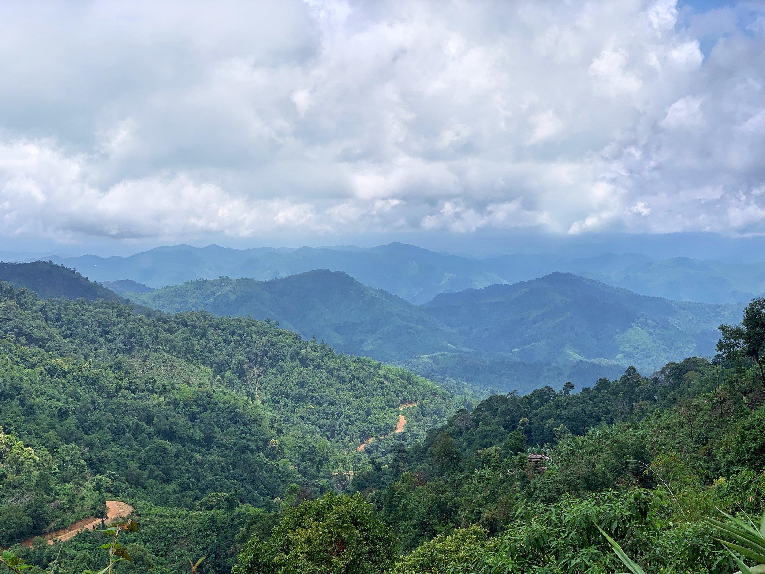 thandaunggyi hiking myanmar