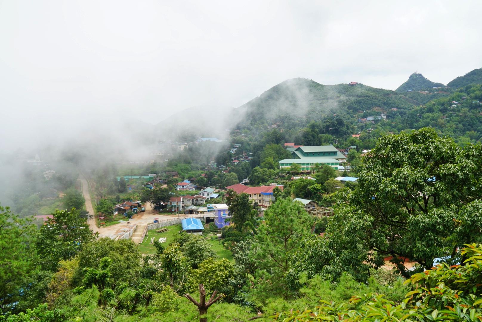 thandaunggyi myanmar castle