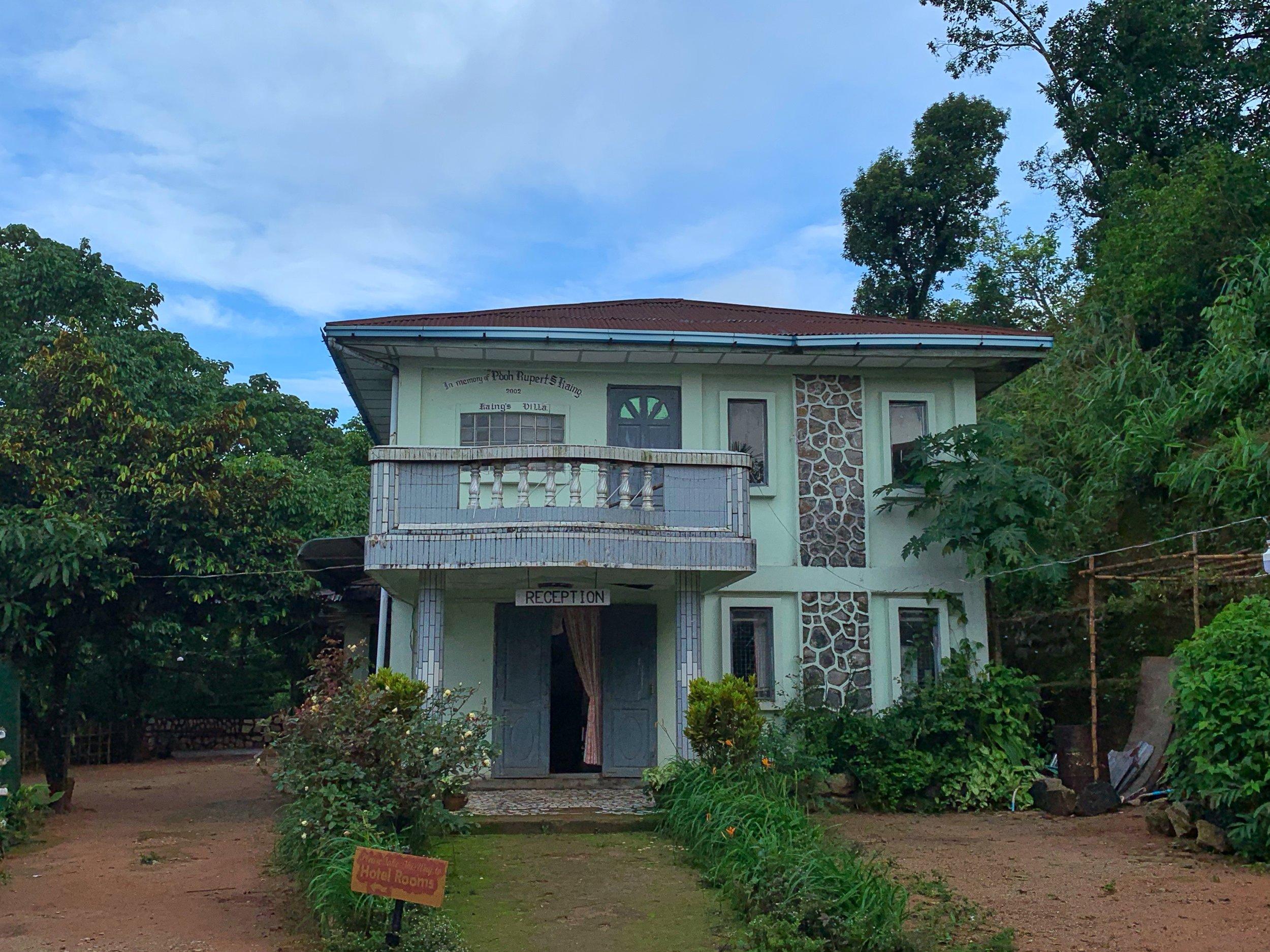 thandaunggyi kaing's villa accommodation