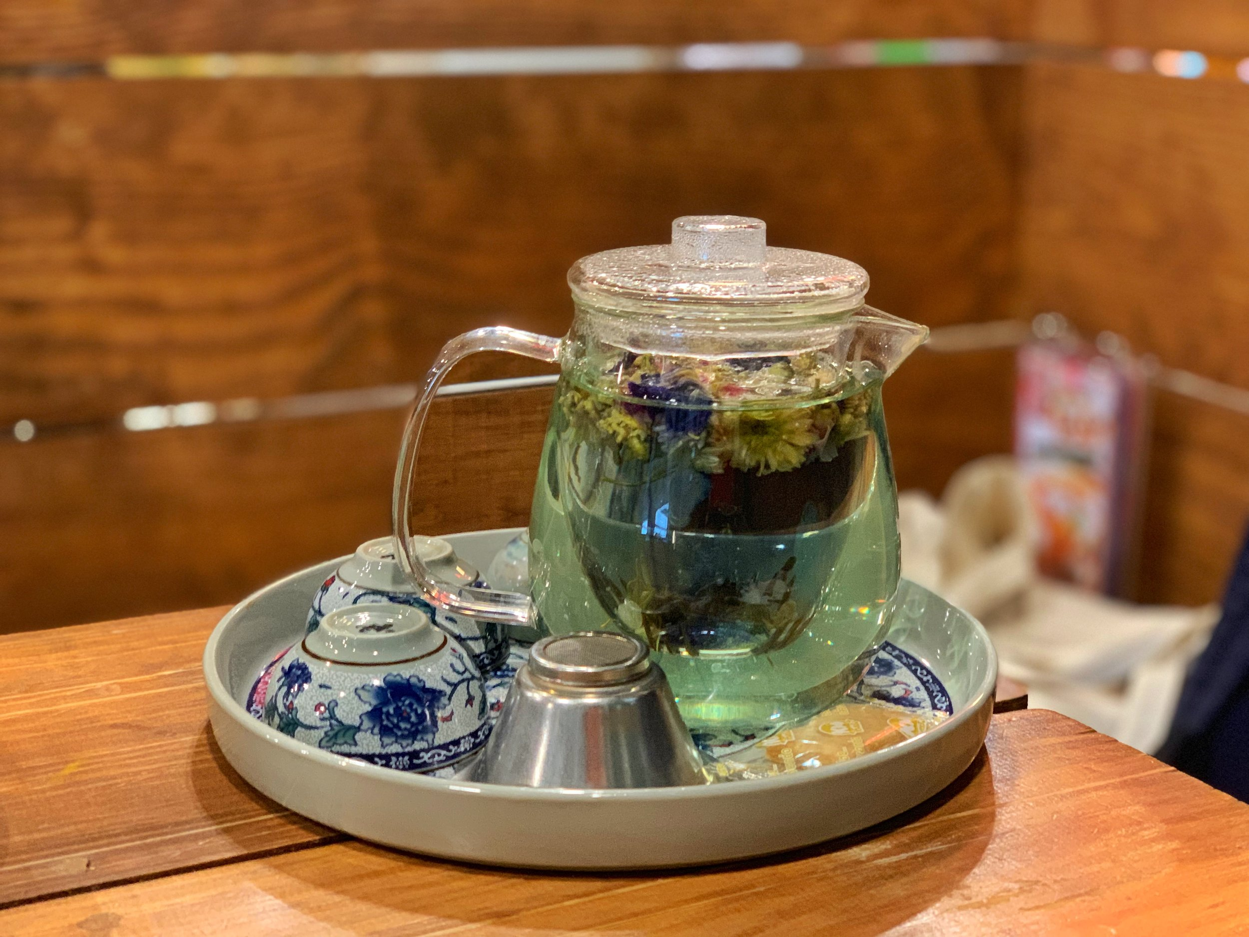 lhongtou tea cafe bangkok thailand the market