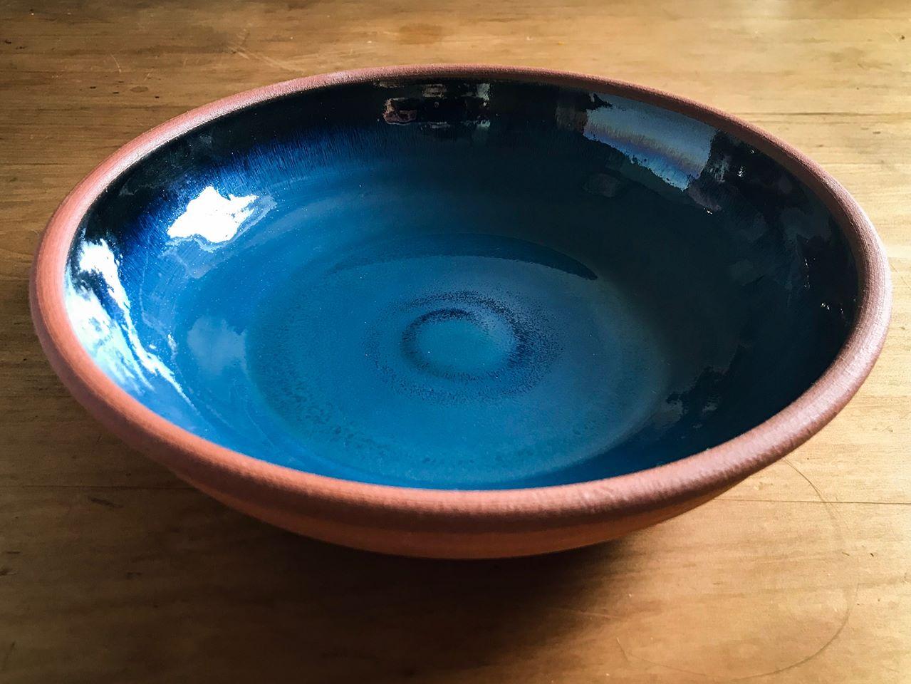 GV Pottery ceramic glaze bowl