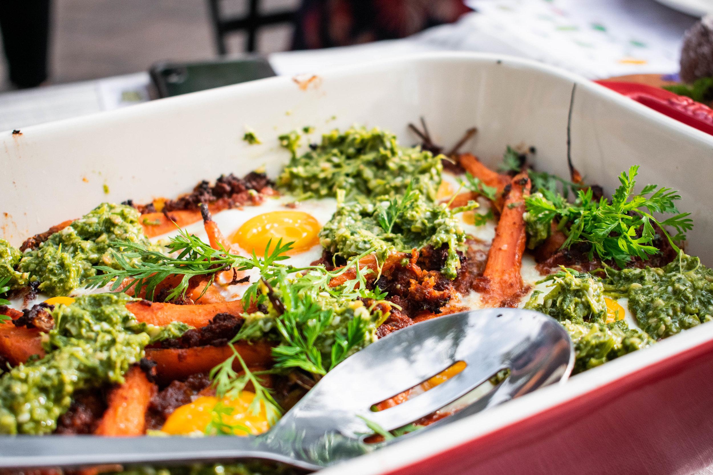 Farm Fresh Egg Bake  from Chef Paul C. Reilly, Beast+Bottle & Coperta