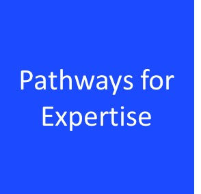 Pathways for expertise