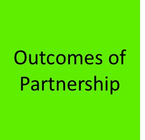 Outcomes of partnership